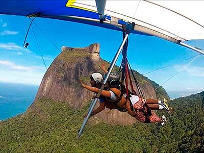 Voo Asa Delta Rio de Janeiro 1