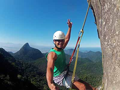 Rappel in Tijuca Forest 01
