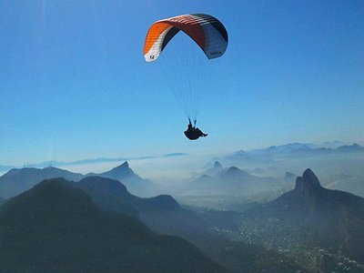 Voo Parapente Rio de Janeiro 1