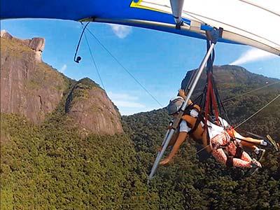 Voo Asa Delta Rio de Janeiro 2