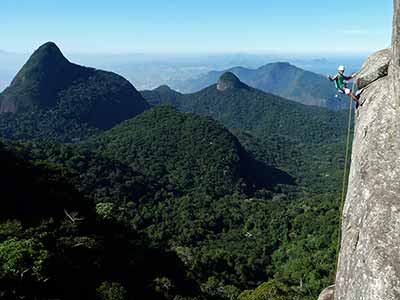 Rappel in Tijuca Forest 07