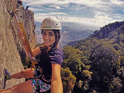 Rappel in Tijuca Forest 02