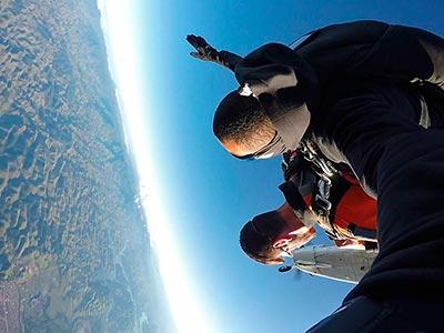 Salto de Paraquedas em Resende