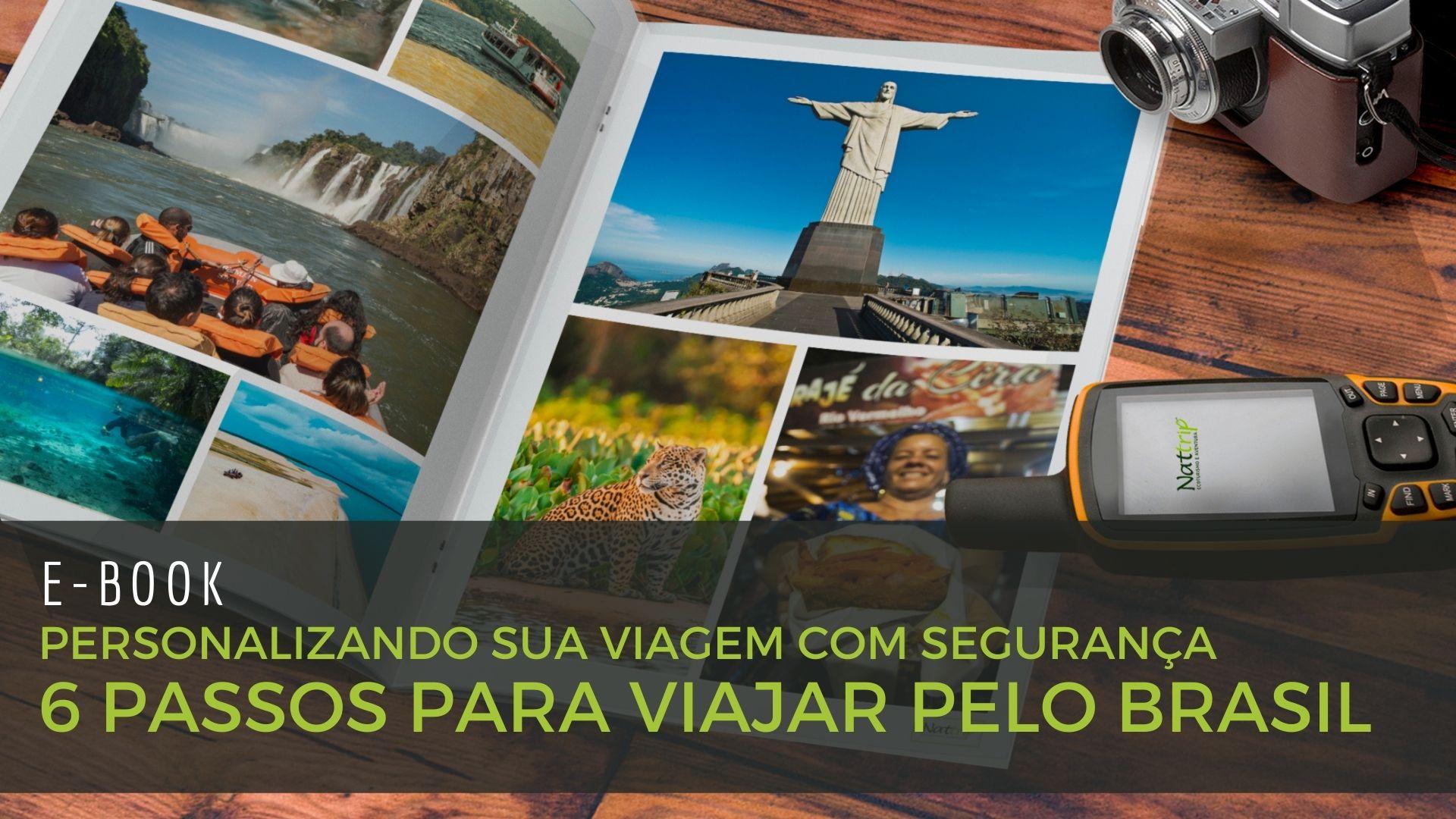 E BOOK Personalizando sua Viagem com Seguranca Nattrip Brasil