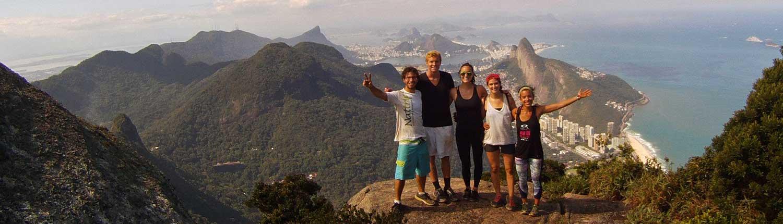 Hiking Rio de Janeiro 1