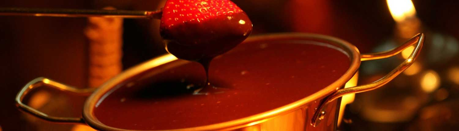 Receita de Fondue de Chocolate - wide