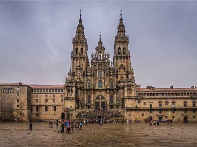 Caminho de Santiago de Compostela - Catedral