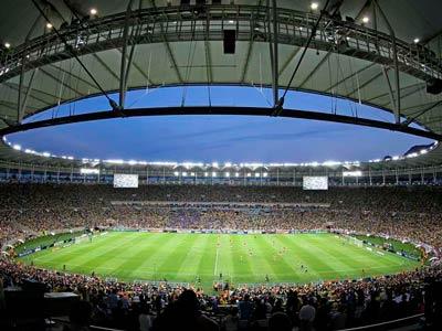 Jogos de futebol no rio de Janeiro