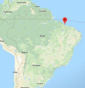 Parque nacional Lencois maranhenses mapa