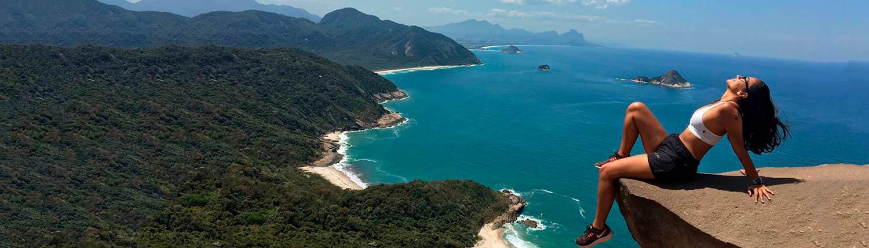 8049f141570 Trilha Pedra do Telégrafo com Guia - Rio de Janeiro RJ - Nattrip