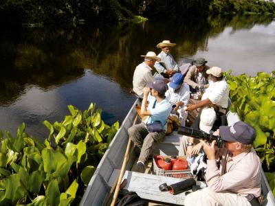 Viagem para Pantanal Passeio de Barco